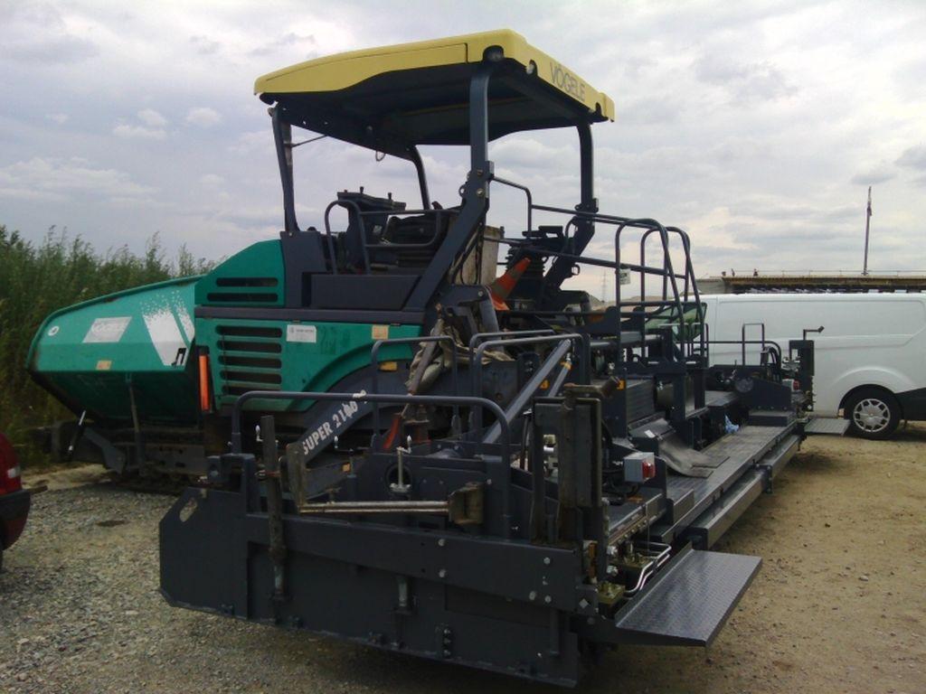 KRUTA GREDA VÖGELE SB 250-2 TP2
